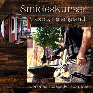 Växbo Café  Hantverk Smideskurs Repslagning Hälsingland