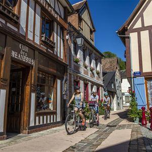 Echappée à vélo de Rouen à La Bouille