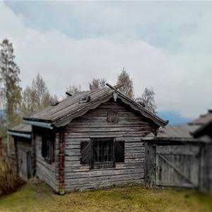 MasOlles gammelgård.