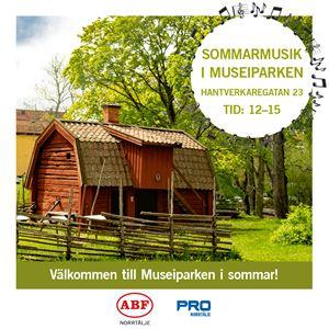 Sommarmusik i Museiparken med ABF och PRO