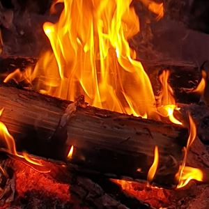 © Susanne Säbb Danielsson, Eld som brinner.