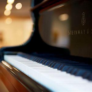 Tangenter på ett piano.