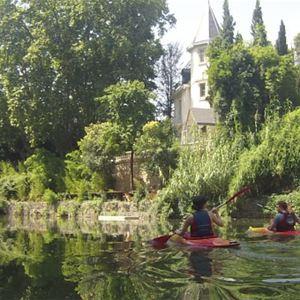 Insolite : Canoeillette avec le MEVCK