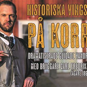 © Korrö , Bryggmästare Uebels dramatiserade vandring på Korrö