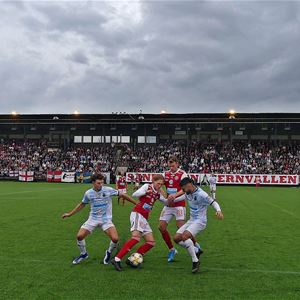 Fotbollsmatch herr Sandvikens IF - Gefle IF