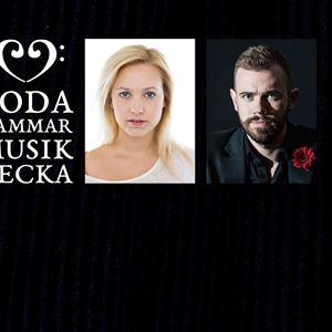 Collage på Hanna Husáhr och Henrik Berg