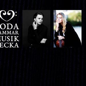 Collage på Pontus Carron och Daina Mateikaite.