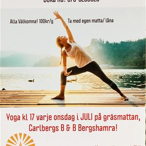 Yoga på Carlberg B&B