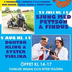 Tyrolen: Barnens torsdagar Doktor Kling och Syster Violina