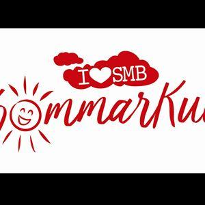 En logga med texten Sommarkul.
