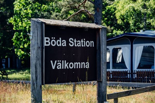 Ställplats - Böda station