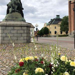 Engelbrekts statyn. stora torget.