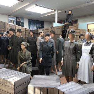 Utställningar och visningar Uniformsmuseet