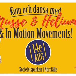Dansa med Musse & Helium och In Motion Movements