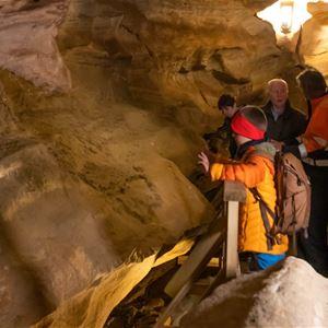 Kathrine Sørgård,  © Kathrine Sørgård, Guided cave tour in Grønligrotta