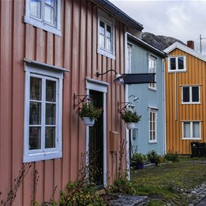 Cindy-Lou Dale,  © Cindy-Lou Dale, Guesthouses in the historic area in Mosjøen