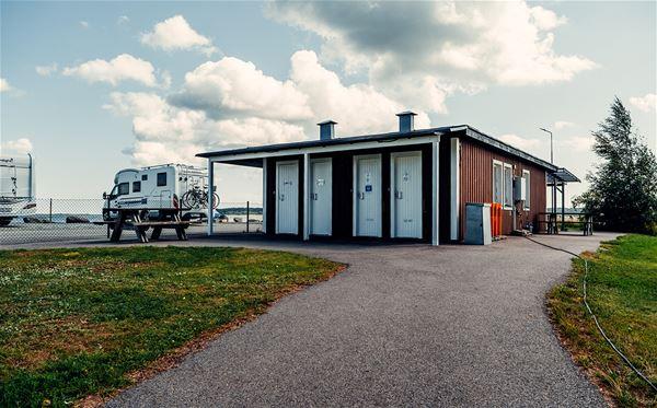Ställplats - Nabbelunds hamn