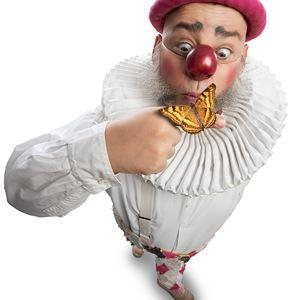 Nalle Clown har fjärilar i magen, Berga teater