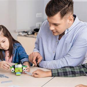 Lördagskul på bibblan - Robotverkstad – programmera Edison