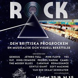 'Progressive Rock – Den Brittiska Progrocken' i Kilafors Biograteater, 25/9 kl 15
