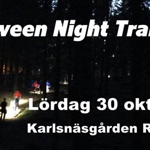 Halloween Night Trail