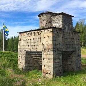 © Mora bygdearkiv, Industriminne i Siljansfors.