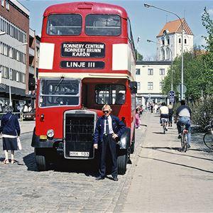 Förr och nu i Ronneby kommun. I Ronneby på 1980-talet, del 1