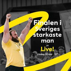 Finalen i Sveriges starkaste man