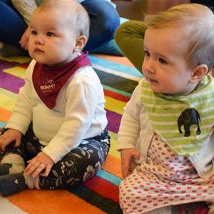 Bild vid babysångstillfälle