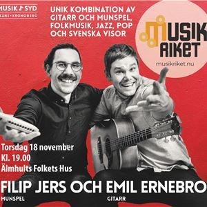 Concert: Filip Jers & Emil Ernebro