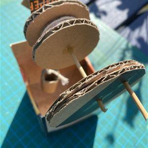 Debora Svensson,  © Trelleborgs Museum, prova på att bygga mekaniska manicker