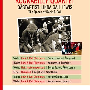 Rock & Roll Chrismas (Kent Wennman Rockabilly Quartet (gäst: Linda Gail Lewis)
