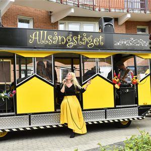 Allsångståget & Linda Lundqvist