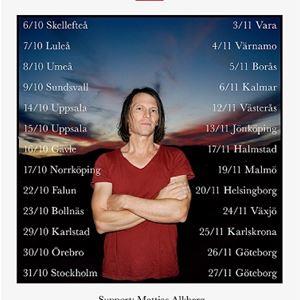 Jakob Hellman, Support: Mattias Alkberg