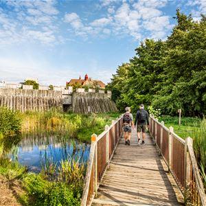 Apelöga, Invigning och vandring Skåneleden