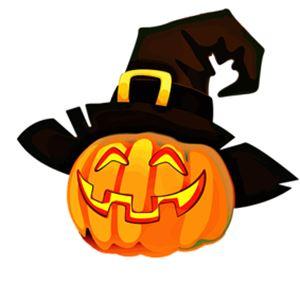 Halloweenfest för mellanstadiet på biblioteket