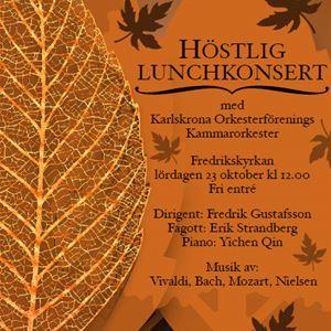 Höstlig lunchkonsert