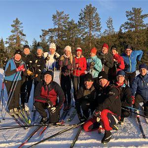 Kungsholmen - Teknikläger på längdskidor i januari 2022