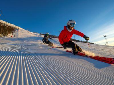 One week of skiing in Narvik