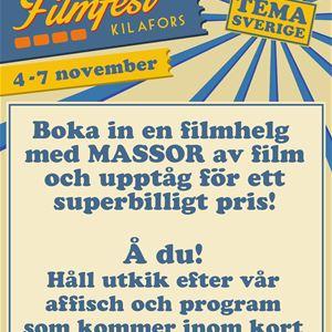 FILMFEST I KILAFORS BIOGRAFTEATER 4 -7 november