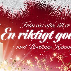 © Kerstin Drejholt, Från oss alla, till er alla En riktigt god jul! med Borlänge Kammarkör
