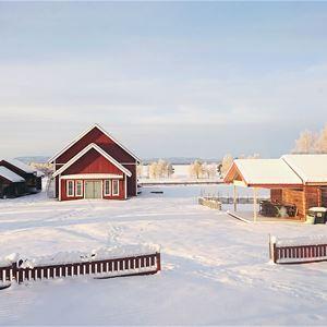 © Pers Anna Larsson, Vattnäs konsertlada i vinterskrud.