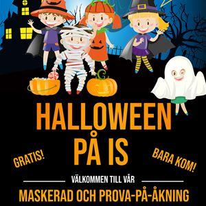 © Copy: IF Castor Konståkning, Halloween på is, Östersund Arena