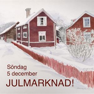 © Ulrika Bergvall, Gagnefpopups Julmarknad