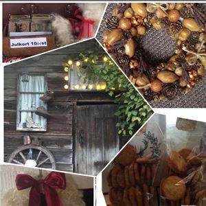 Julmarknad i gammaldags stil