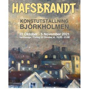 Konstutställning på Konstnären & Pinaulen - Anders Hafsbrandt