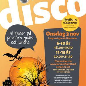 © Copy: Junis, Halloweendisco med Junis