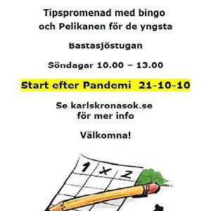 Tipspromenad i Bastasjö med Karlskrona SOK
