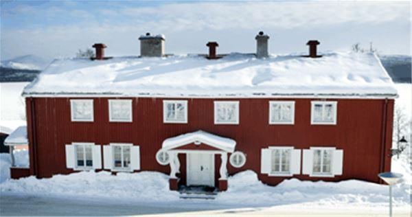 Tärnaby/Åkerlundska gården, Vandrarhem