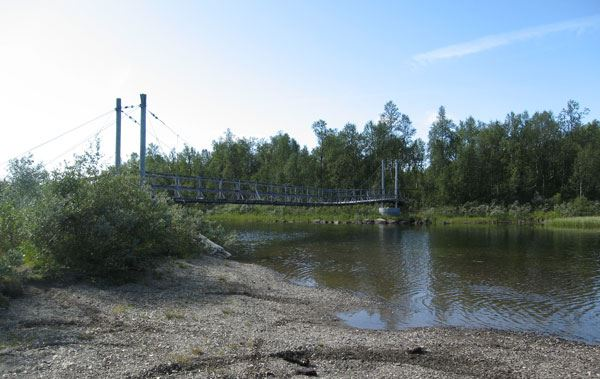 © Hemavan Tärnaby PR-förening, Fångstgropar i Biellojaure